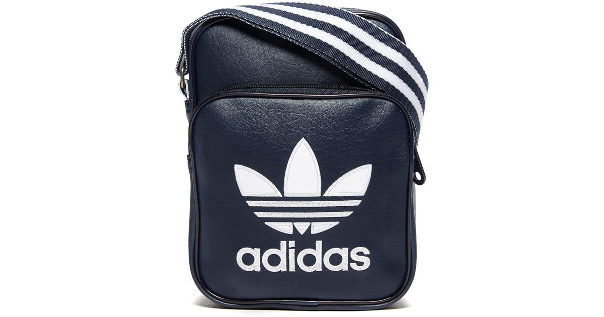 Lyst - adidas Originals Small Items Bag in Blue for Men b6e43115ce6f7