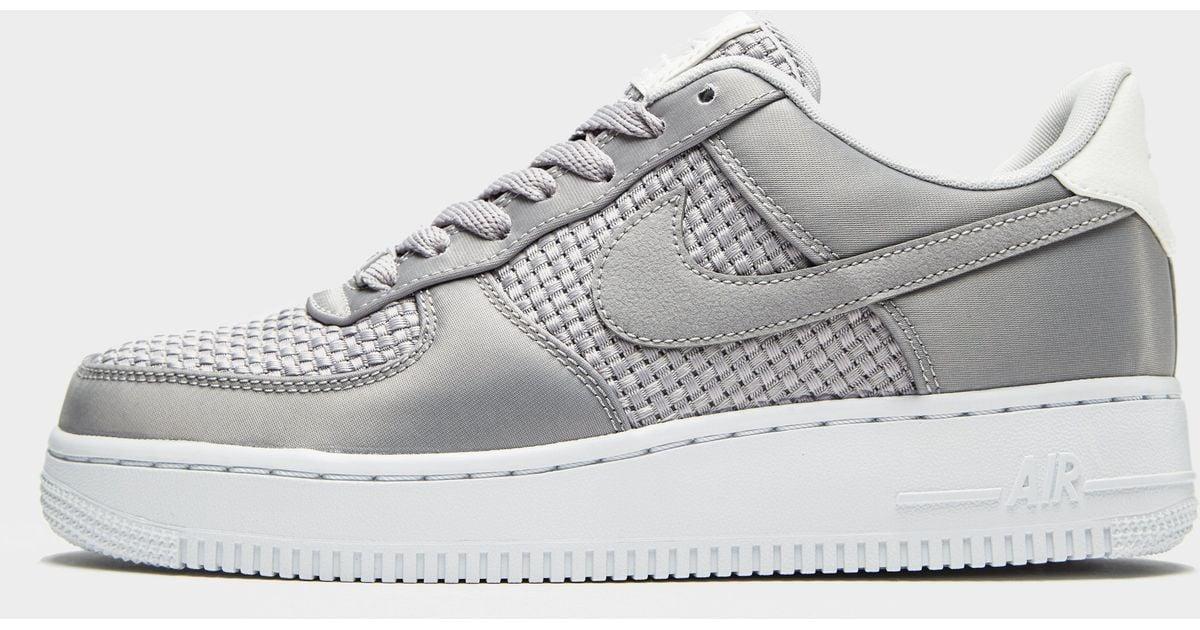 Lyst Gray Woven Force Air 1 Nike 3qLj54AR