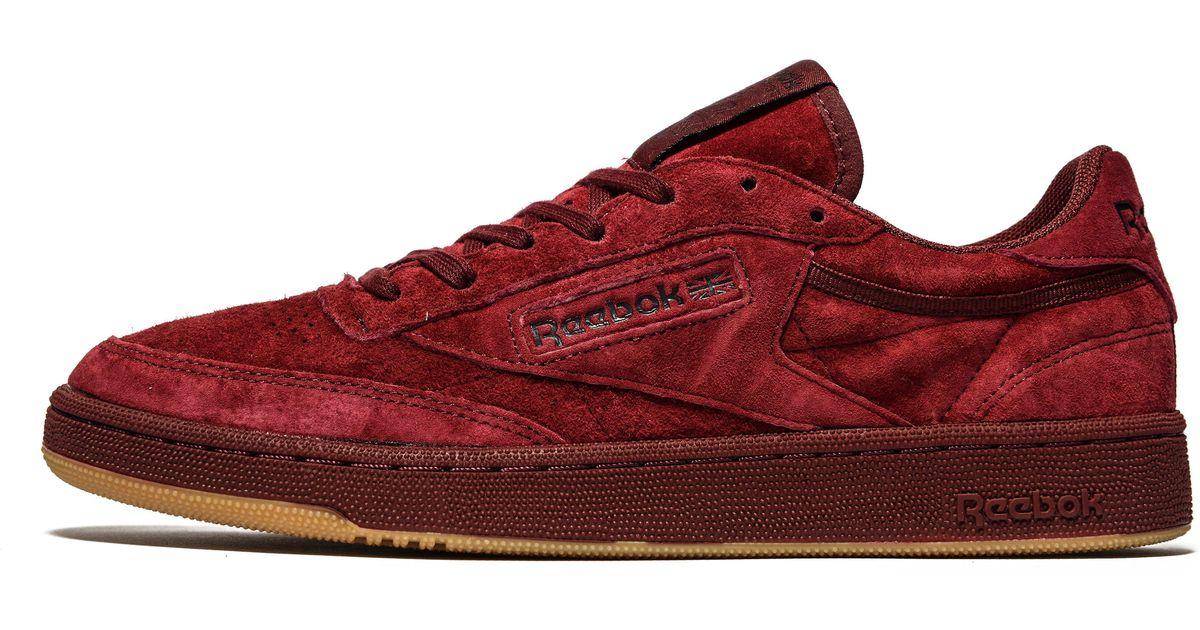 983bb3b9fc Lyst - Reebok Club C 85 Tg Sneaker in Red for Men