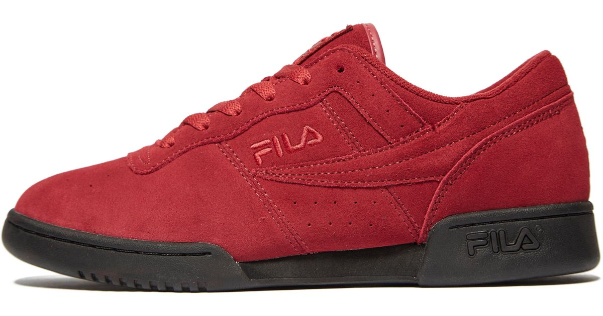 fila shoes low top red barclays