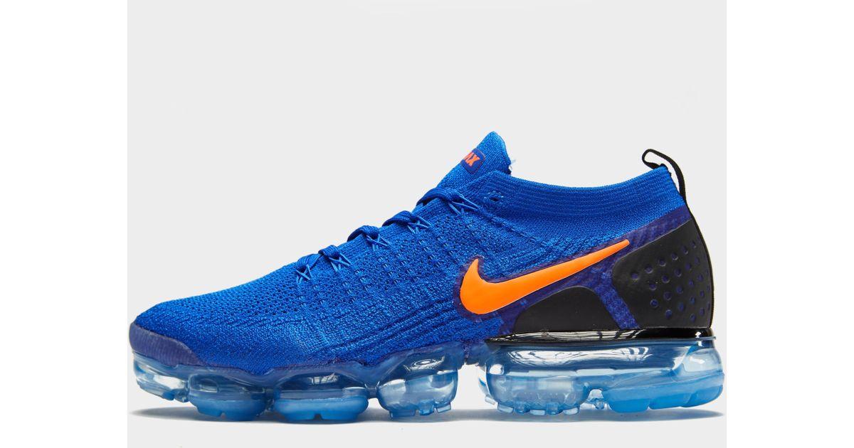 6a3e6abfec2b1 Lyst - Nike Air Vapormax Flyknit 2 in Blue for Men
