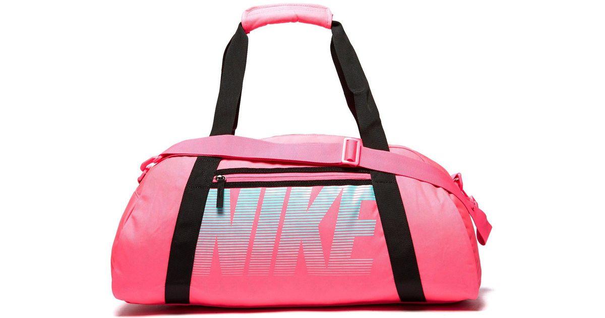 2e563e8fb Nike Gym Club Training Duffel Bag in Pink - Lyst