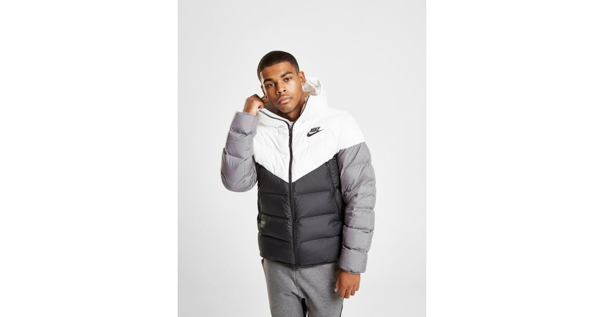 47b5db3c7fd3 Nike Down Fill Bubble Jacket in Black for Men - Lyst