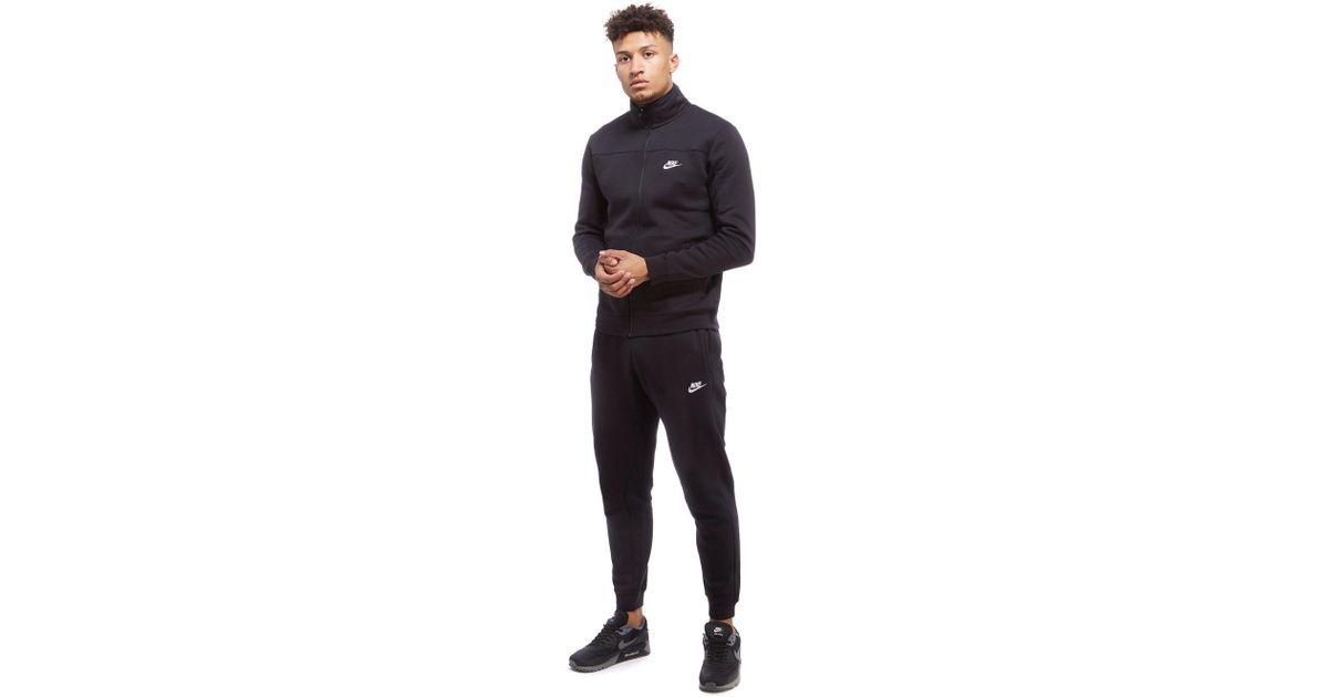 c2586616a3da Lyst - Nike Season 2 Fleece Tracksuit in Black for Men