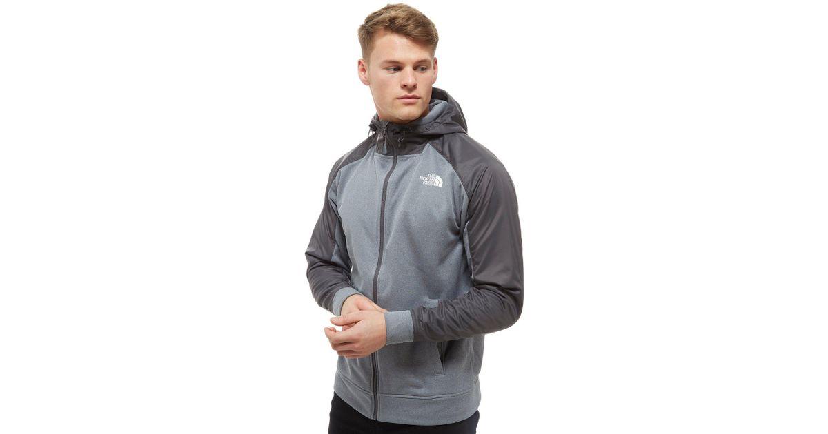 Lyst - The North Face Mittellegi Full Zip Hoodie in Gray for Men c82bb9aeec
