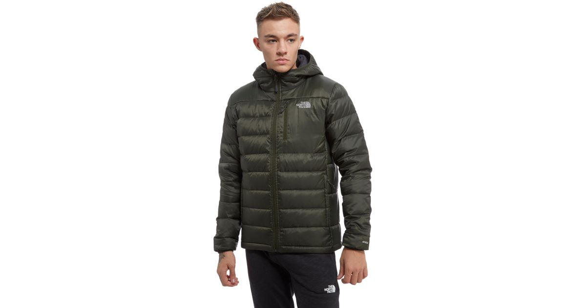Lyst The North Face Meru Down Puffa Jacket In Green For