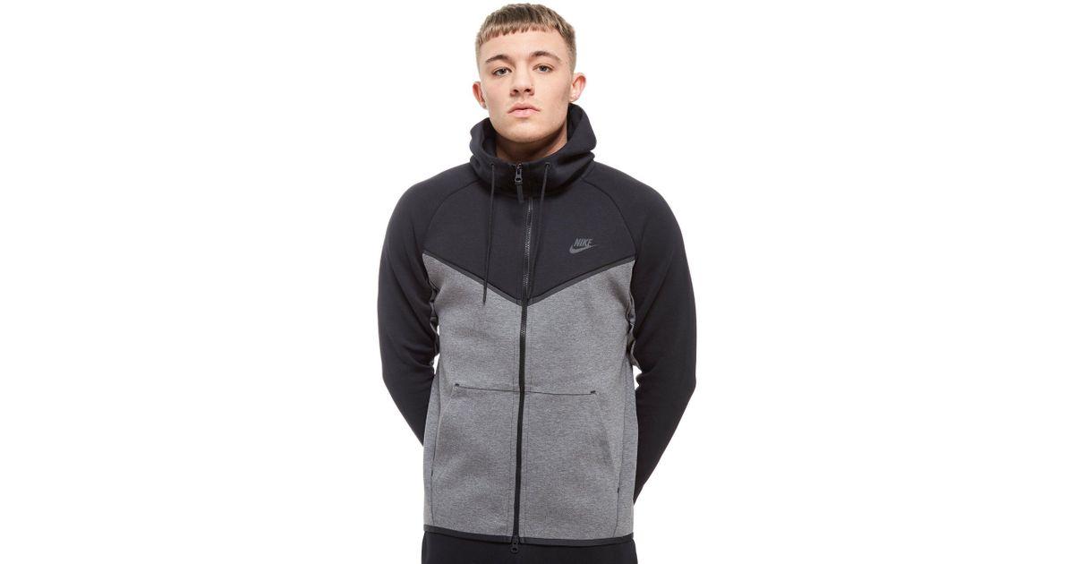 4e2a7416 Nike Tech Fleece Windrunner Full Zip Hoodie for Men - Lyst