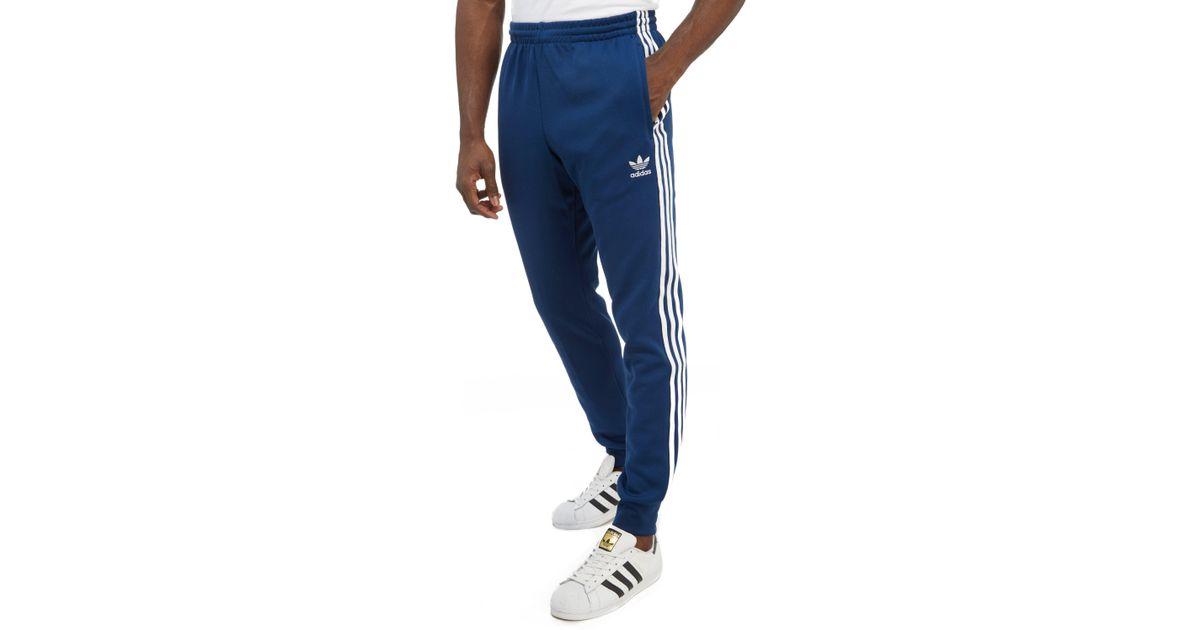 Adidas Originals Blue 3-stripes Superstar