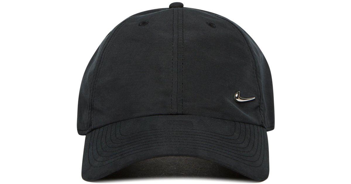 934eda81db3 Mens White Arkansas Razorbacks Arobill Swoosh Flex Cap  huge discount 28451  00eb7 Lyst - Nike Side Swoosh Cap in Black for Men ...