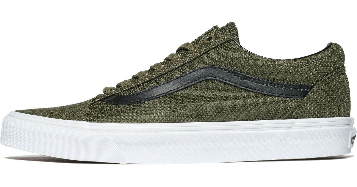 0abfccab005c3a Vans Old Skool Mesh in Green for Men - Lyst