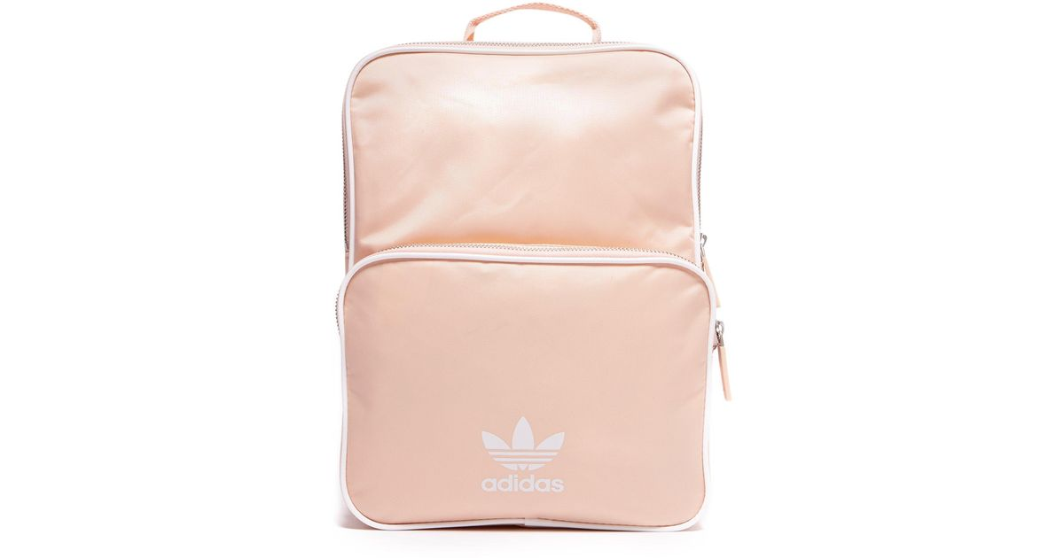 8239fdf656c adidas Originals Adicolor Backpack in Pink - Lyst
