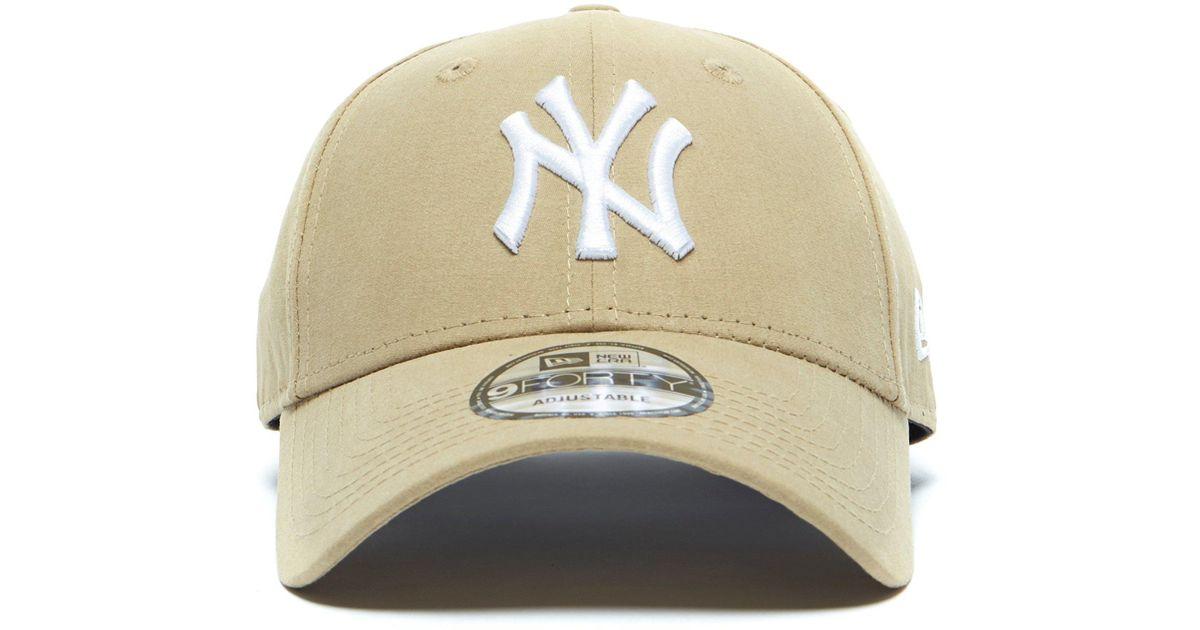 KTZ - Natural 9forty New York Yankees Baseball Cap for Men - Lyst aa61b51db5f