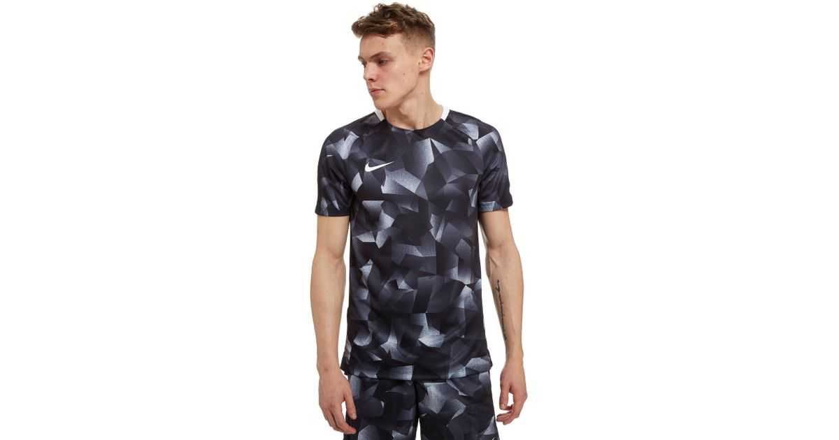 bd5c2d3930d9 Lyst - Nike Squad Camo T-shirt in Black for Men