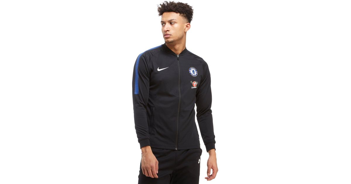 Lyst nike chelsea squad track jacket in black for men jpg 1200x630 Chelsea  track jacket ee47a1a9c