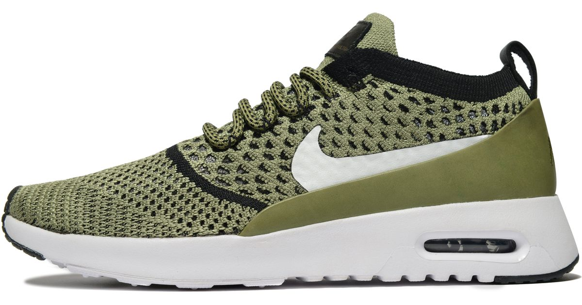 los angeles 461ac 165e8 Nike - Green Air Max Thea Flyknit for Men - Lyst