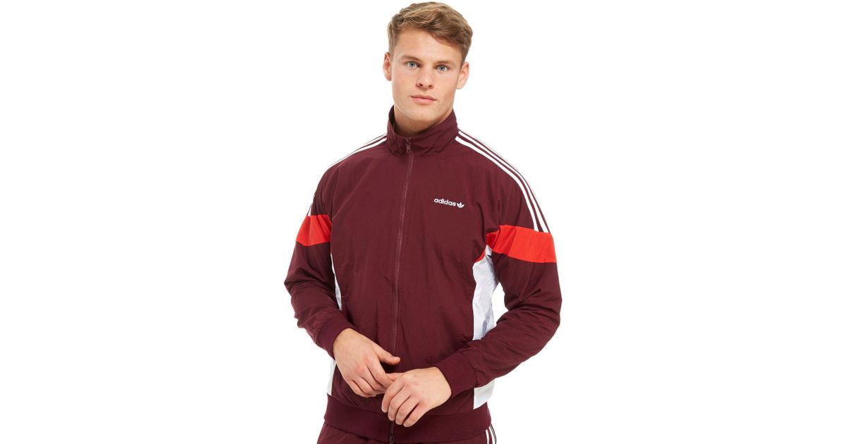 d27594d4961 adidas Originals Challenger Track Jacket in Red for Men - Lyst