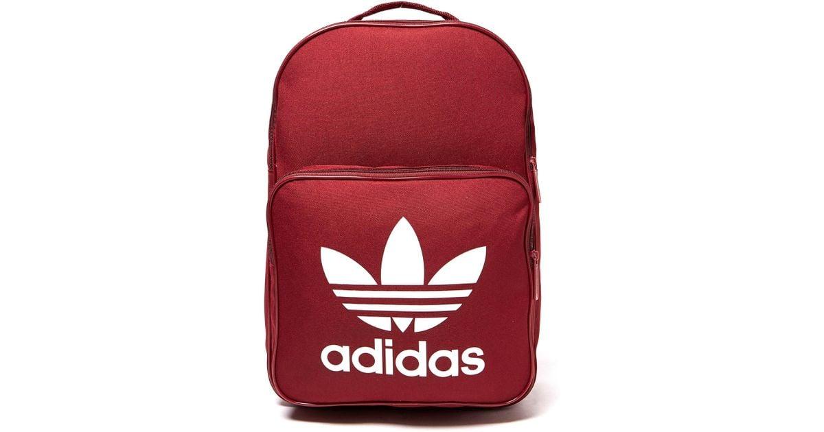 0ca048c4b7cf Lyst - adidas Originals Classic Backpack in Red for Men
