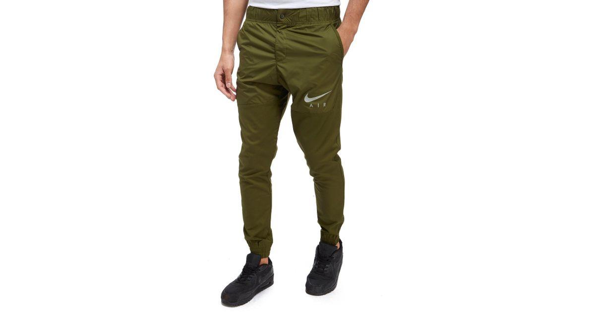 Lyst Nike Air Hybrid Jogging Pants In Green For Men