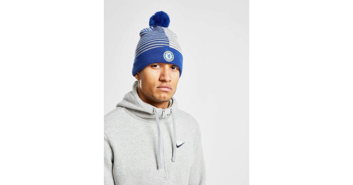 Lyst - Nike Chelsea Fc Beanie in Blue for Men 45878362fa8d