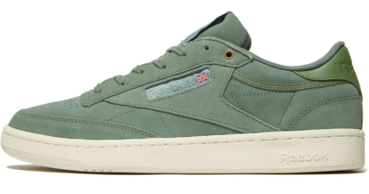 Lyst - Reebok Club C 85 Montana Cans Pack in Green for Men 7ac67ecd1