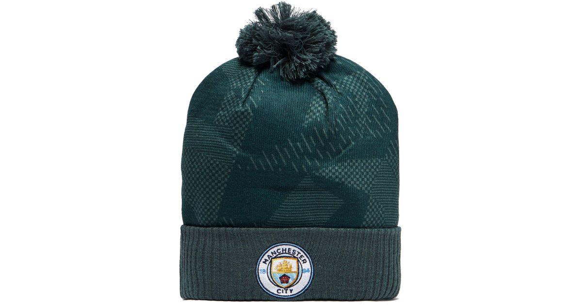 b6dd29189c8 Nike Manchester City Fc Beanie Hat in Green - Lyst