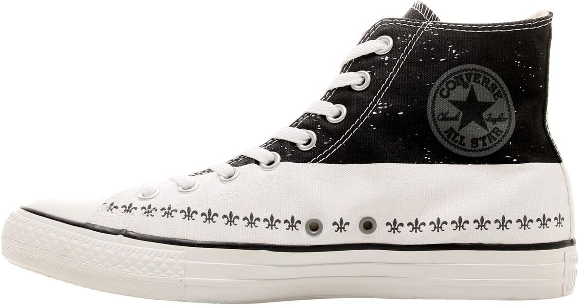 769b357b6fbe3e Lyst - Converse Chuck Taylor All Star High Top Andy Warhol Sneakers Size 9  for Men