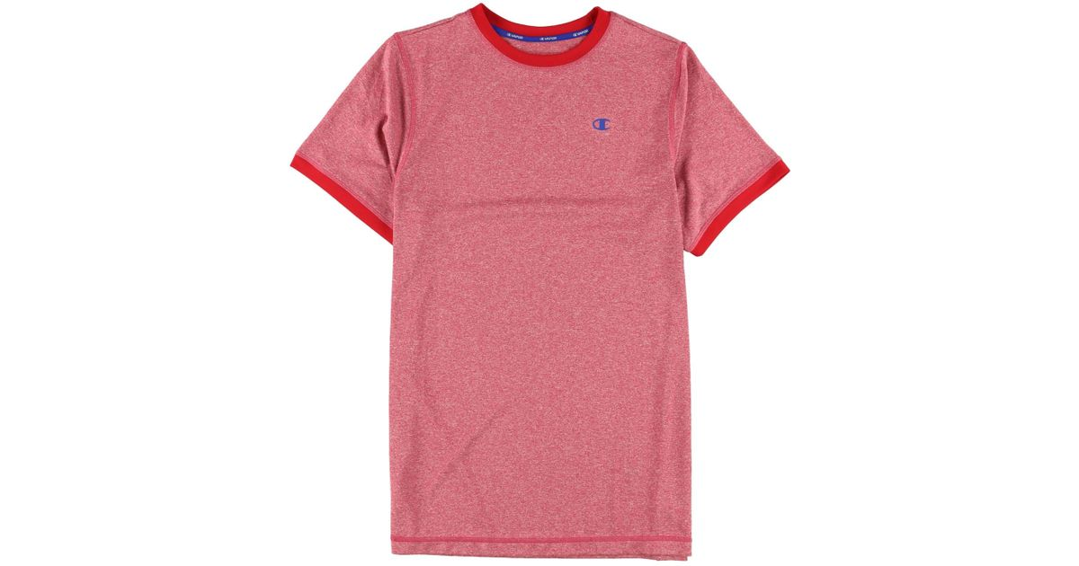 ab89e9da Lyst - Champion Quick Dry Basic T-shirt Red Xl in Red for Men