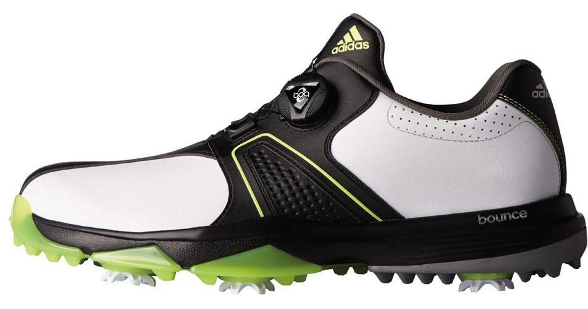 8ddbf120f26e Lyst - Adidas Originals 360 Traxion Boa Golf Shoes 2017 in Black for Men
