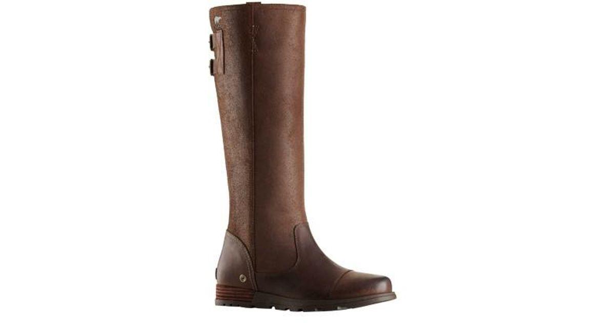 8b3e8ccf08b Lyst - Sorel Major Tall Boot in Brown