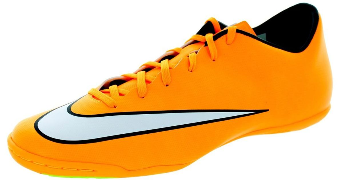 d8a50ea85eb Lyst - Nike Mercurial Victory V Ic Laser Orange white black volt Indoor  Soccer Shoe 10 Men Us in Orange for Men