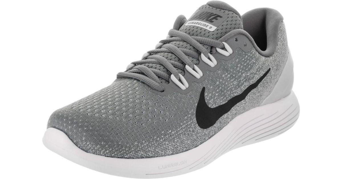 b508313aaaa Lyst - Nike Lunarglide 9 Cool Grey black Pure Platinum Running Shoe 8 Men  Us in Gray for Men