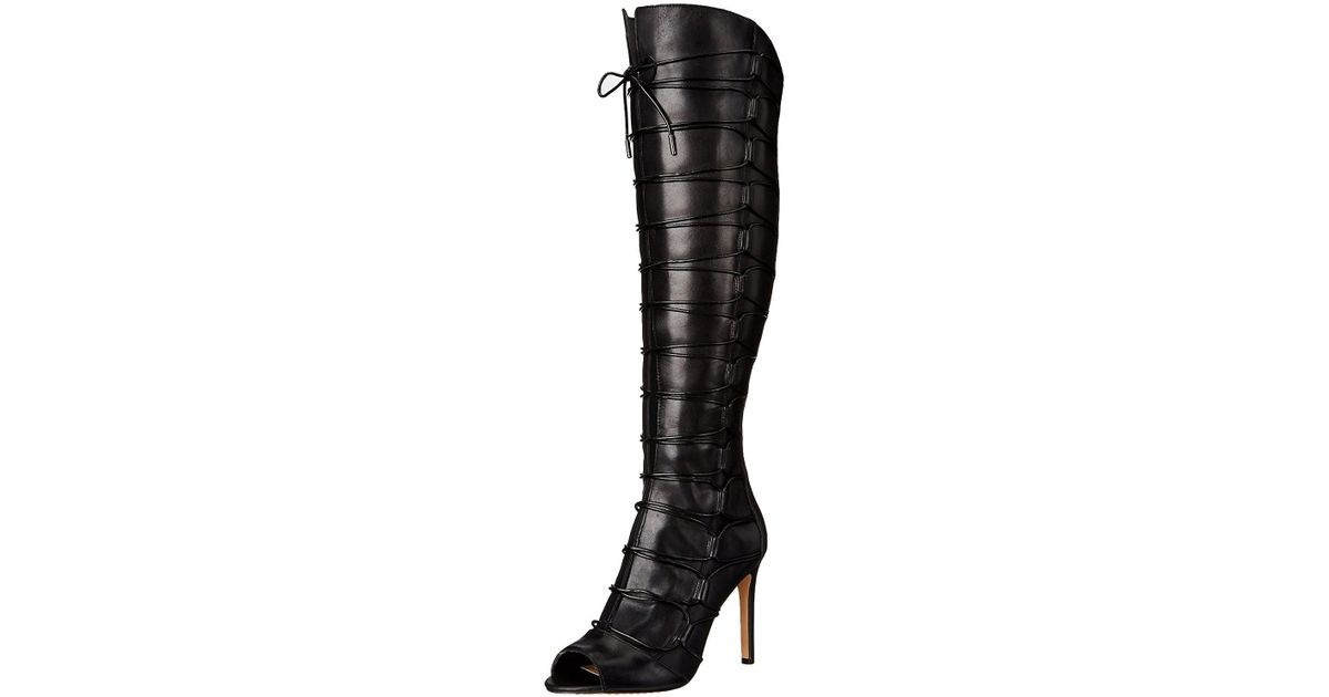 ae9002e9fa4 Lyst - Vince Camuto Kesta Knee Boot in Black