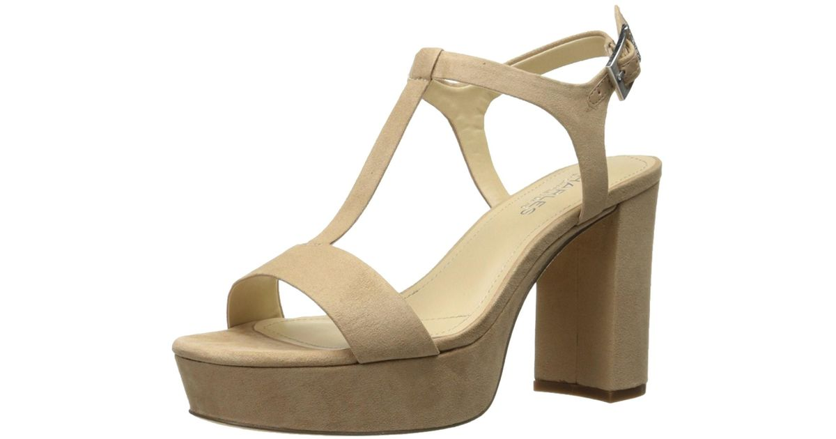 d0ec1f5b3759 Lyst - Charles David Charles By Miller Open Toe Casual T-strap Sandals in  Natural