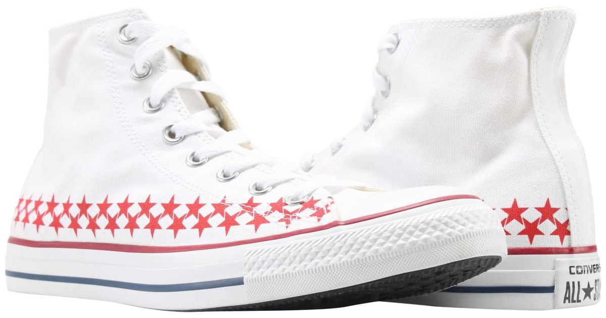 2fd94d1bfad1c4 Lyst - Converse Unisex Chuck Taylor All Star Americana in White for Men