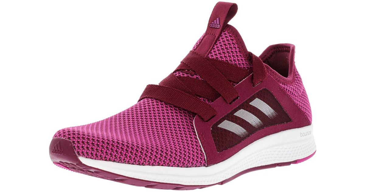711c471e3ef Lyst - Adidas Edge Lux Shoe Runningmystery Ruby-magenta-white in Pink