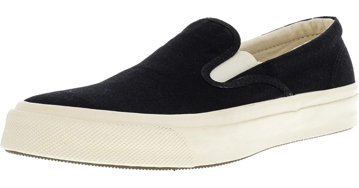 8c6b595f27df Lyst - Converse Deck Star 67 Slip On Ankle-high Canvas Slip-on Shoes -  10.5m 8.5m in Black
