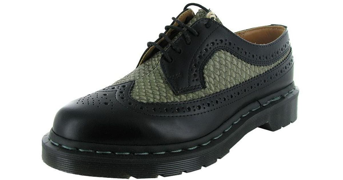 3b30597a19 Dr. Martens 'mie 3989 Brogue' Wingtip Shoe in Black for Men - Lyst