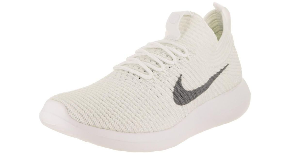 4fa9513fa89cb Lyst - Nike Roshe Two Flyknit V2 Running Shoe 6.5 Us in White