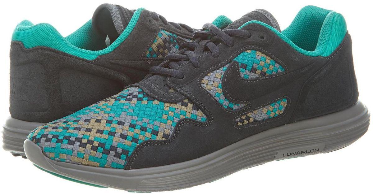 best sneakers df9d7 a2a55 Lyst - Nike Lunar Flow Woven Qs for Men