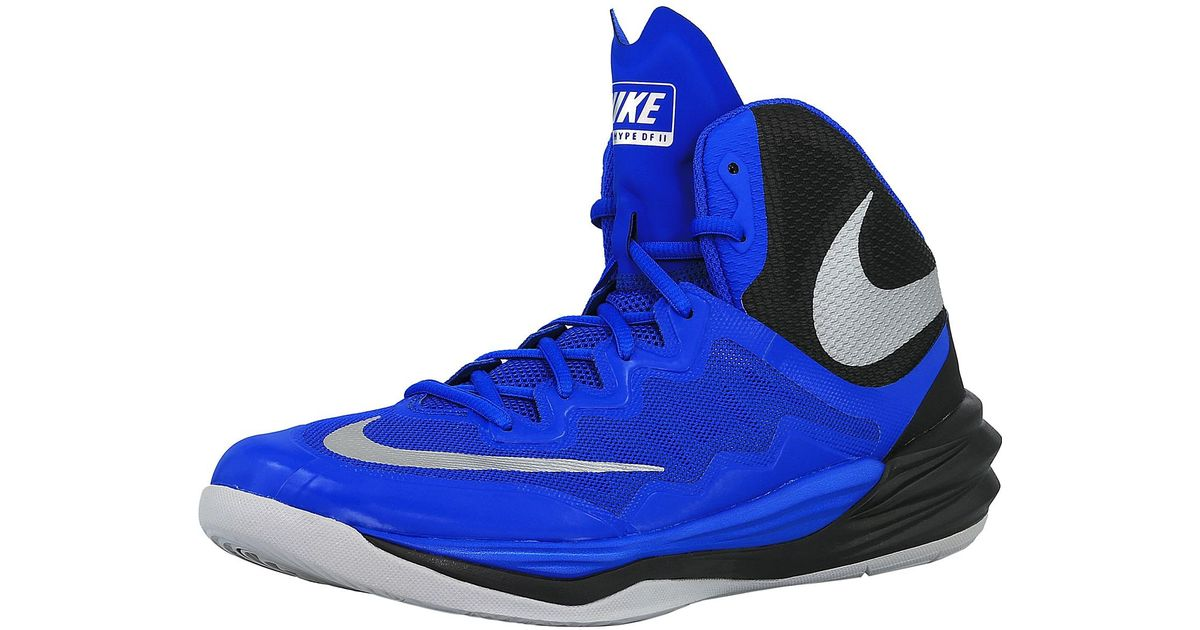 45303c40c0ad Lyst - Nike Prime Hype Df Ii 401 Ankle-high Basketball Shoe in Blue for Men