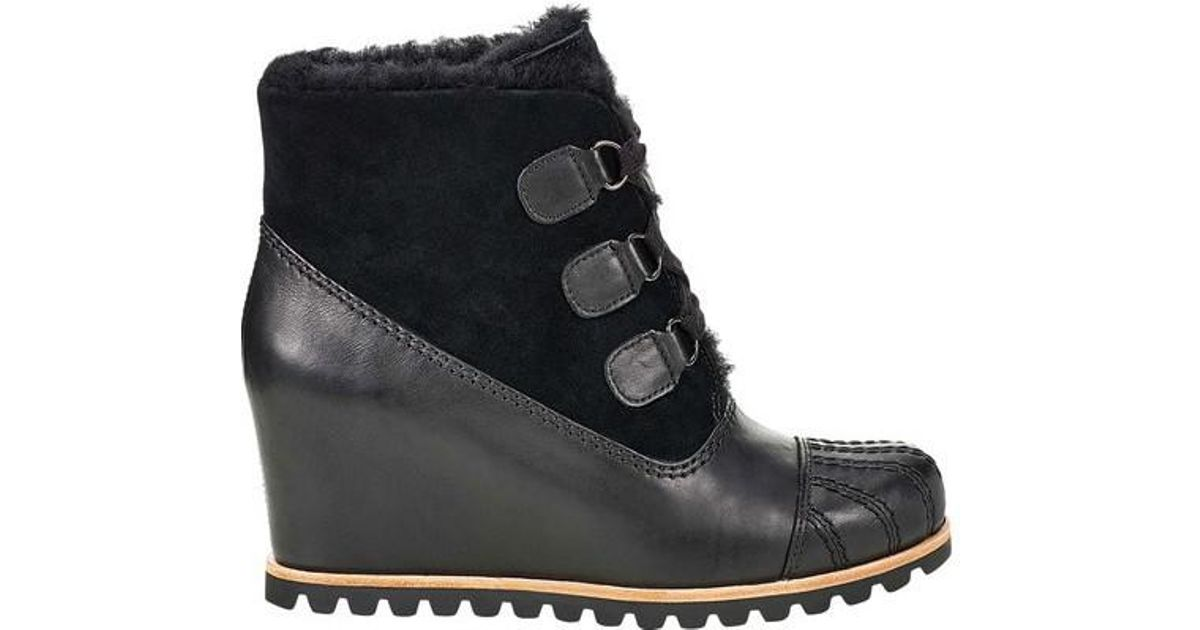 b343413179d Lyst - UGG Ugg Alasdair Wedge Bootie in Black