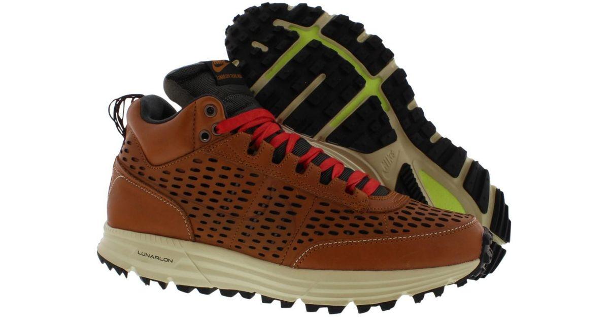 big sale 782b4 6851e Lyst - Nike Lunar Ldv Prm Qs Sneaker Boot in Brown for Men