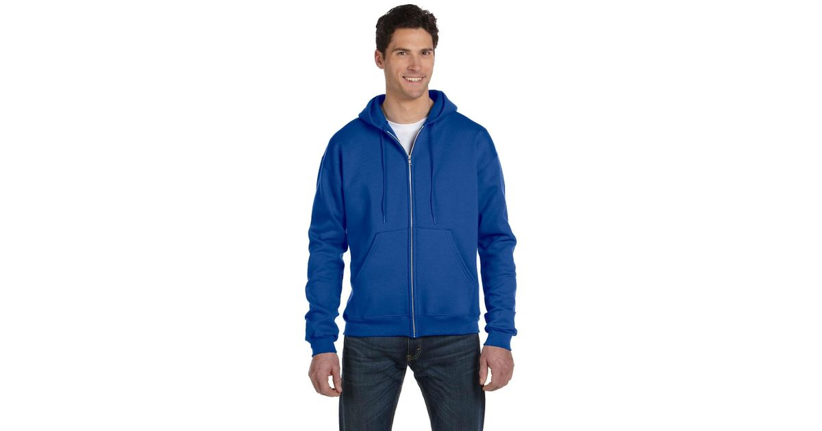 1638d1c5 Lyst - Champion S800 Double Dry Eco Full-zip Hooded Sweatshirt in Blue for  Men