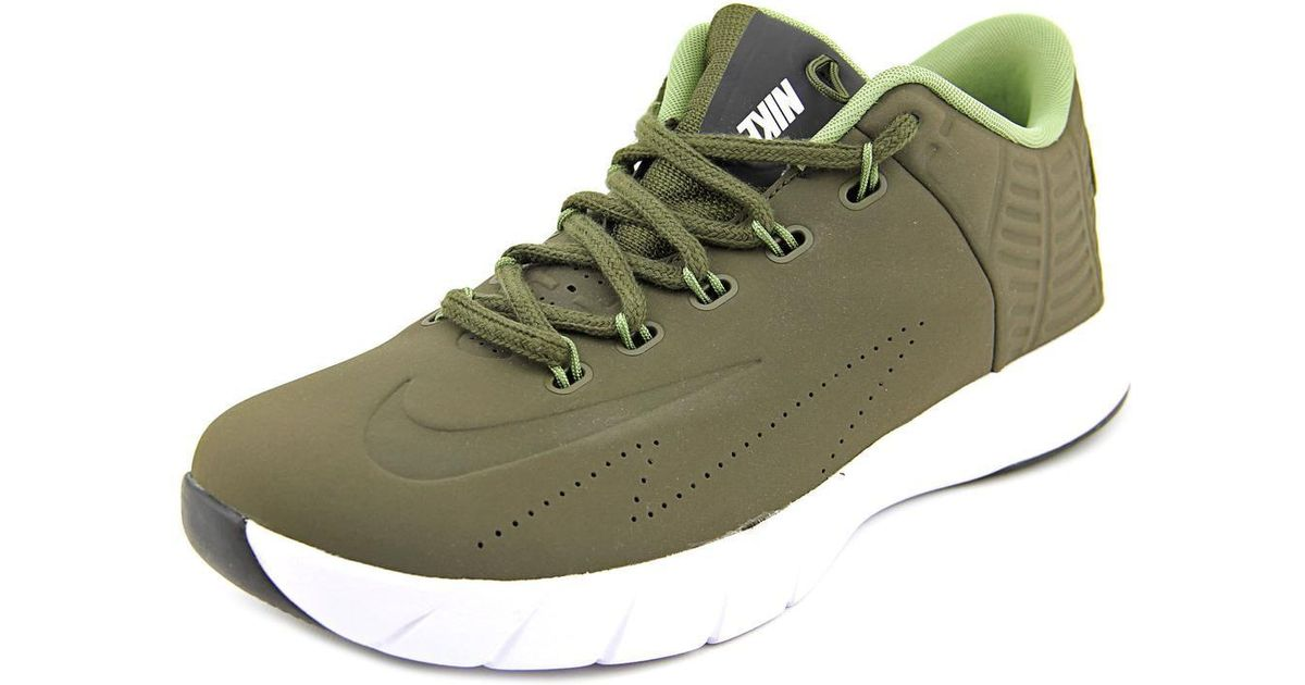 f45e9a2d6439 Lyst - Nike Lunar Hyperrev Low Ext Men Round Toe Synthetic Green Sneakers  in Green for Men