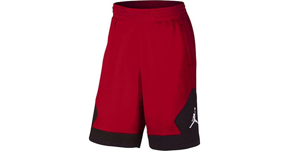 bdfe634a4ada84 Lyst - Nike Jordan Aj Varsity Fleece Jumpman Shorts-reds-2xl in Red for Men