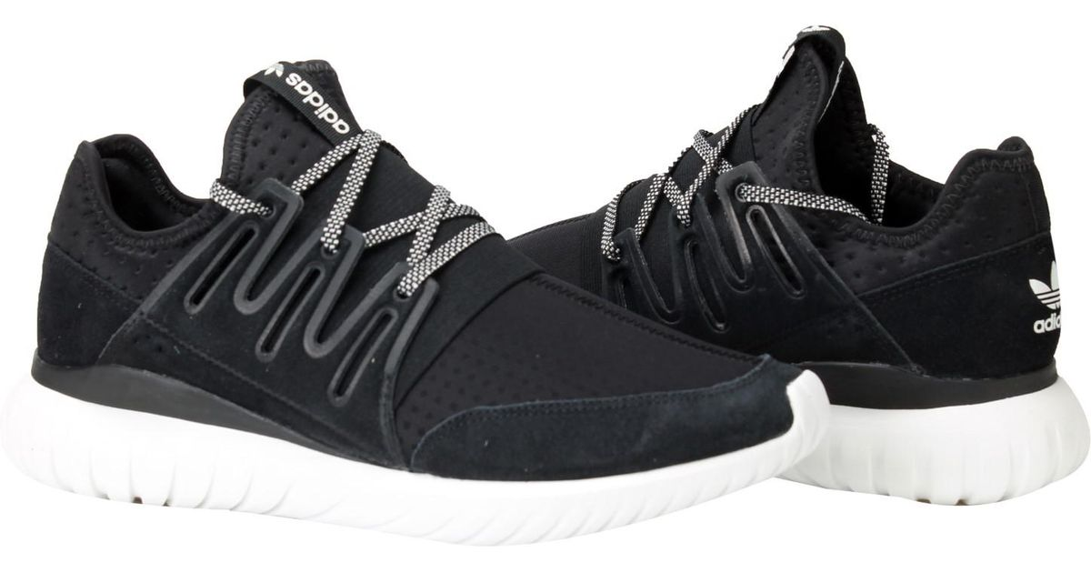 b7341e6c407 ... low price lyst adidas originals tubular radial running shoes size 11.5  in black for men 103d7