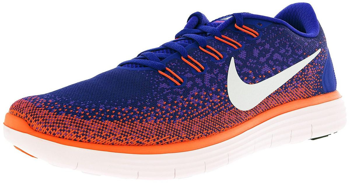 new products 1d202 d66c6 Lyst - Nike Free Rn Distance Concord off White-hyper Grape-total Crimson  Ankle-high Fabric Running Shoe in Purple for Men
