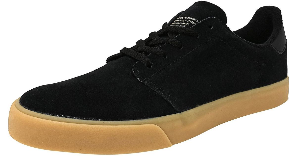 e526f4fe919541 Lyst - Adidas Seeley Court Core Black   Gum 3 Gold Metallic Suede Skateboarding  Shoe in Black for Men