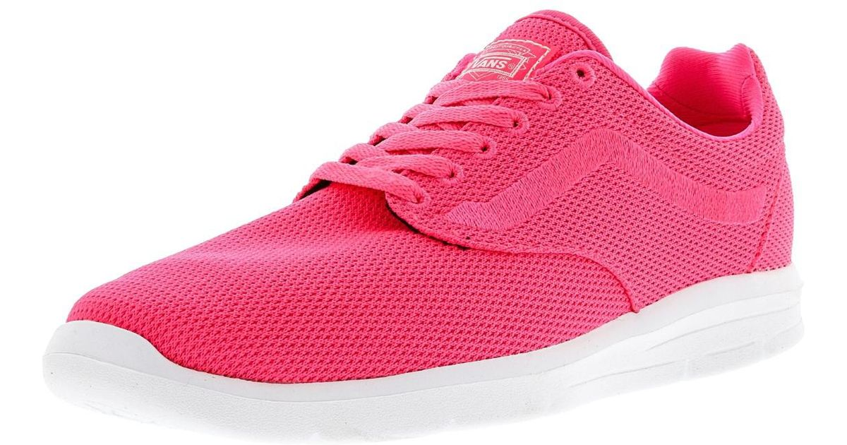 7aa014aca338 Lyst - Vans Iso 1.5 Mesh Knockout Ankle-high Running Shoe - 9m   7.5m in  Pink for Men