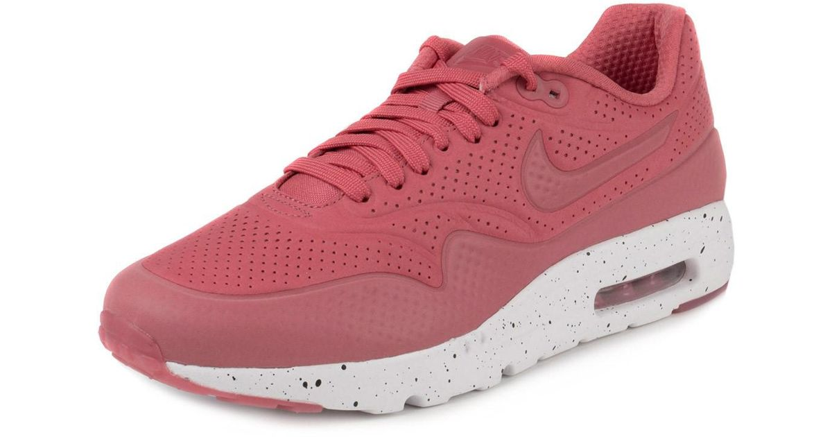 e7066c7b1f Lyst - Nike Mens Air Max 1 Ultra Moire Terra Red/white 705297-611 Size 9.5  in Red for Men